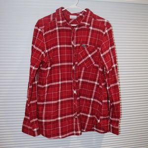 Columbia flannel button down